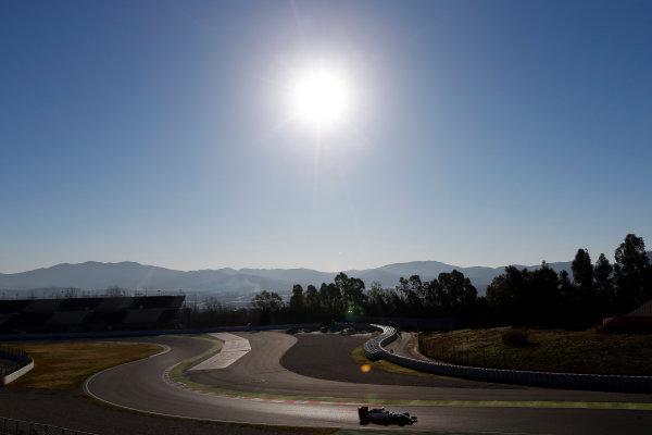Circuit de Catalunya, Barcelona, Spain Tuesday 01 March 2016. Valtteri Bottas, Williams FW38 Mercedes.  World Copyright: Zak Mauger/LAT Photographic ref: Digital Image _79P9446