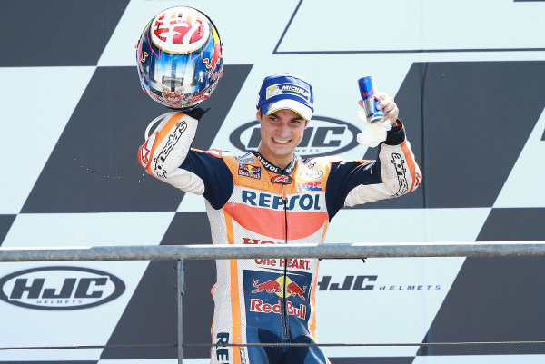 2017 MotoGP Championship - Round 5 Le Mans, France Sunday 21 May 2017 Third place Dani Pedrosa, Repsol Honda Team World Copyright: Gold & Goose Photography/LAT Images ref: Digital Image 671740