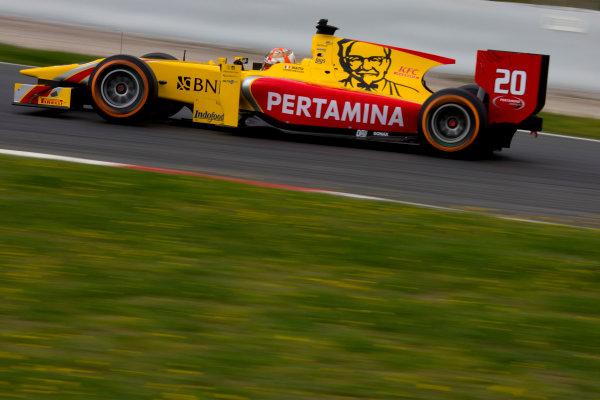 Circuit de Barcelona Catalunya, Barcelona, Spain. Monday 13 March 2017. Norman Nato (FRA, Pertamina Arden). Action.  Photo: Alastair Staley/FIA Formula 2 ref: Digital Image 580A9523