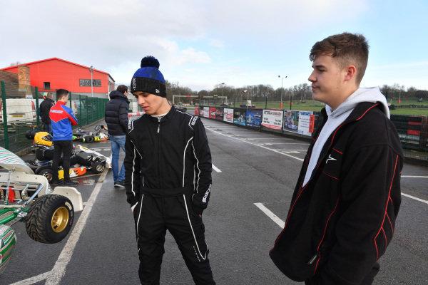 Lando Norris with James Sutton, Motorsport Network,