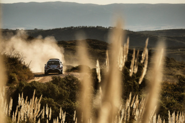 Jari-Matti Latvala (FIN) / Miikka Anttila (FIN), Toyota Gazoo Racing Toyota Yaris WRC at World Rally Championship, Rd5, Rally Argentina, Day Two, Villa Carlos Paz, Cordoba, Argentina, 29 April 2017.