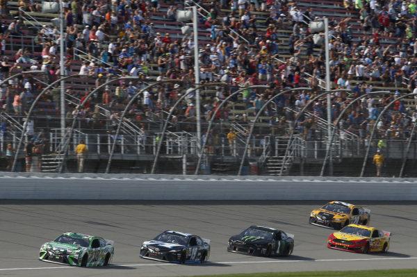 #18: Kyle Busch, Joe Gibbs Racing, Toyota Camry Interstate Batteries #19: Martin Truex Jr., Joe Gibbs Racing, Toyota Camry Auto-Owners Insurance/Martin Truex Jr. 500th Start