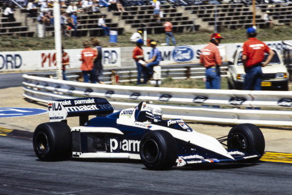 Riccardo Patrese, Brabham BT52B BMW.