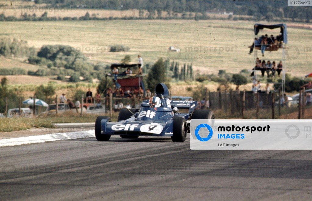 1973 South African Grand Prix.Kyalami, South Africa.1-3 March 1973.Francois Cevert (Tyrrell 005 Ford).Ref-73 SA 03.World Copyright - LAT Photographic
