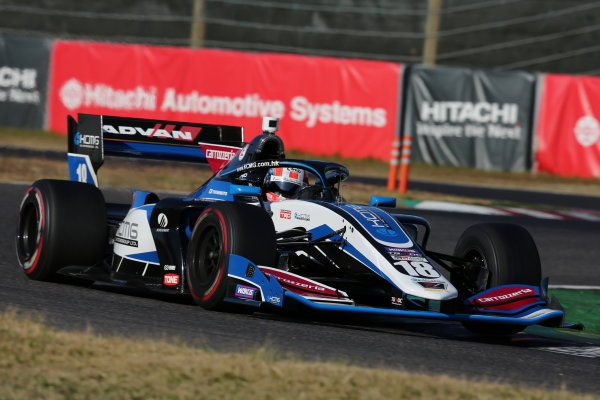 Yuji Kunimoto ( #18 carrozzeria Team KCMG ), Dallara SF Toyota, 3rd position in round five. Photo: Yukio Yoshimi