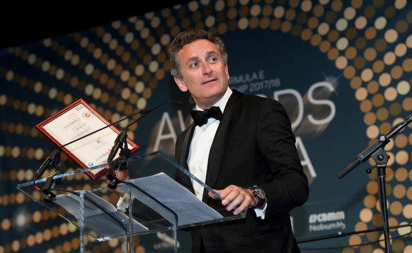 Alejandro Agag, CEO, Formula E, at the Awards Gala.