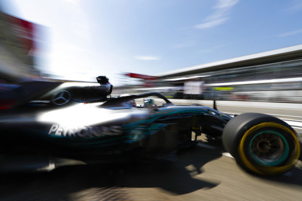 Lewis Hamilton, Mercedes AMG F1 W09.