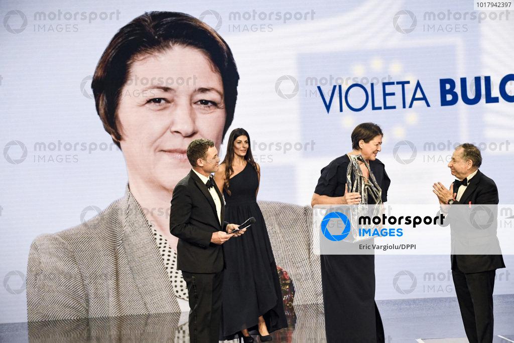 Violeta Bulc with Jean Todt