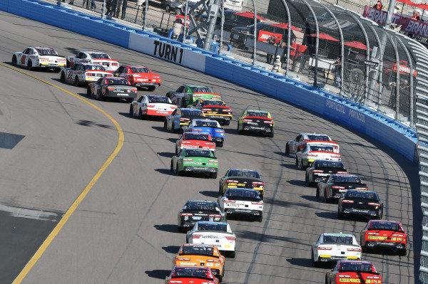 #42: John Hunter Nemechek, Chip Ganassi Racing, Chevrolet Camaro Fire Alarm Services, Inc. nda #00: Cole Custer, Stewart-Haas Racing, Ford Mustang Haas Automation