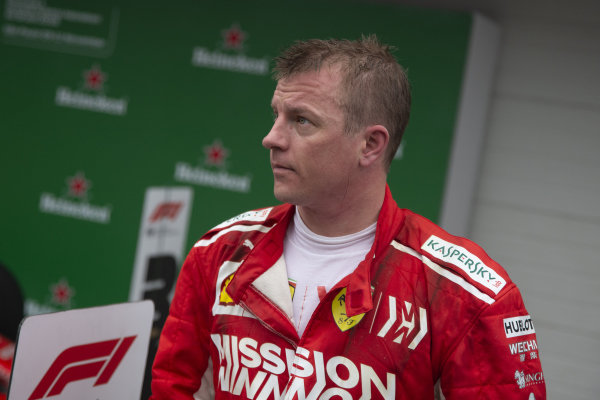 Kimi Raikkonen, Ferrari v Parc Ferme