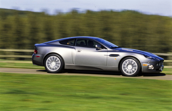 Aston Martin Vanquish V12.